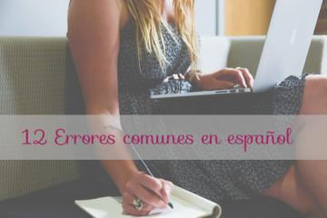 errores más comunes en español