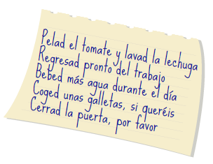 commands with vosotros spanish