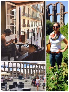 Durante mis viajes por España